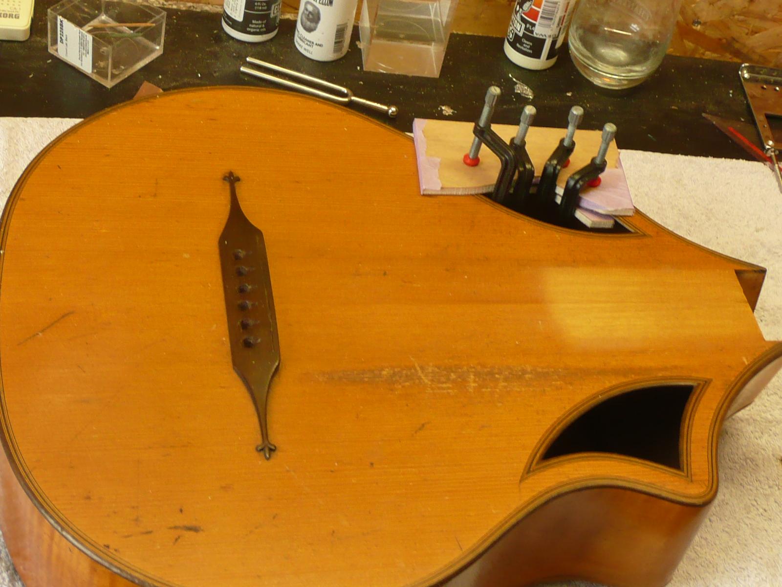 Gitarren Restauration